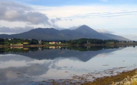 Croagh Patrick as seen from Westport Quay. Pic: Fáilte Ireland