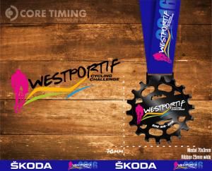 Westportif Finishers medal